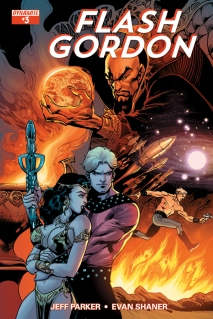 FLASH GORDON #3 80TH ANNIVERSARY COVER