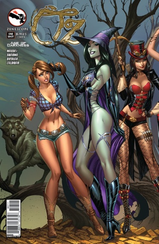 GRIMM FAIRY TALES OZ AGE OF DARKNESS ONE-SHOT COVER A