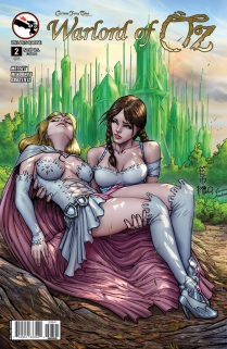 GRIMM FAIRY TALES WARLORD OF OZ COVER D