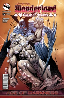 GRIMM FAIRY TALES WONDERLAND CLASH OF QUEENS #5 COVER B