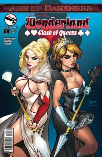 GRIMM FAIRY TALES WONDERLAND CLASH OF QUEENS #5 COVER C