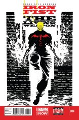 IRON FIST THE LIVING WEAPON #4