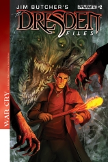 JIM BUTCHER'S DRESDEN FILES WAR CRY #2