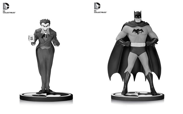 Joker and Batman BW