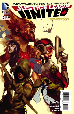 JUSTICE LEAGUE UNITED #2 VARIANT C