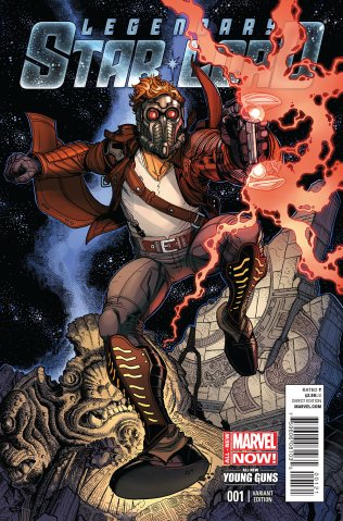 LEGENDARY STAR-LORD #1 VARIANT A