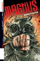 MAGNUS ROBOT FIGHTER #4 HARDMAN COVER