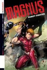 MAGNUS ROBOT FIGHTER #4 LUPACCHINO COVER