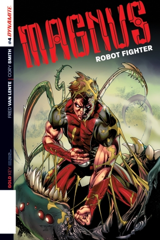 MAGNUS ROBOT FIGHTER #4 SEGOVIA COVER