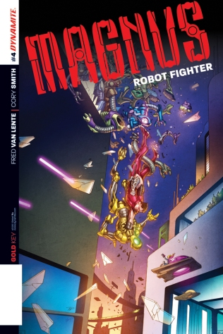 MAGNUS ROBOT FIGHTER #4 SUB COVER