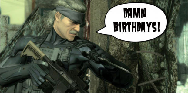 Metal Gear Solid Birthday