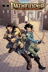 PATHFINDER CITY OF SECRETS #2 GOMEZ COVER