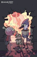 REGULAR SHOW ANNUAL 2014 COVER B