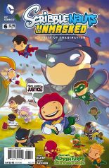 SCRIBBLENAUTS UNMASKED A CRISIS OF IMAGINATION #6