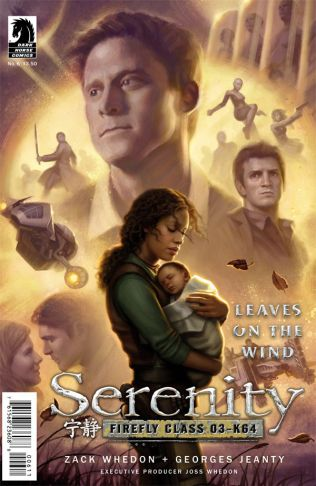 SERENITY LEAVES ON THE WIND #6 DOS SANTOS COVER