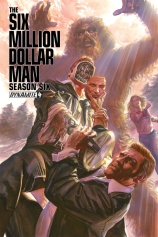 SIX MILLION DOLLAR MAN SEASON 6 #4 ROSS COVER