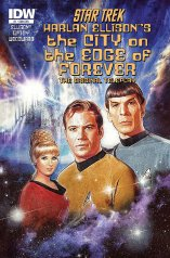 STAR TREK THE CITY ON THE EDGE OF FOREVER #1 SUB COVER