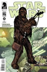 STAR WARS REBEL HEIST #3 HUGHES COVER