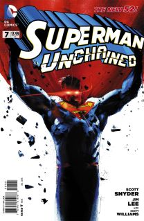 SUPERMAN UNCHAINED #7 VARIANT A