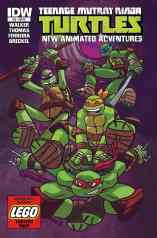 TMNT NEW ANIMATED ADVENTURES #12 VARIANT COVER