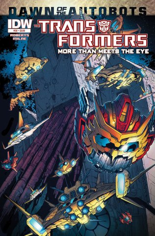 TRANSFORMERS MORE THAN MEETS THE EYE #30