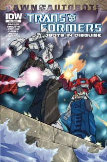 TRANSFORMERS ROBOTS IN DISGUISE #30 VARIANT