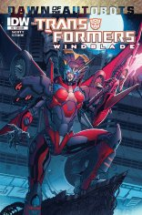 TRANSFORMERS WINDBLADE #3 SUB COVER