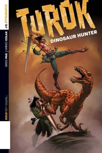 TUROK DINOSAUR HUNTER #5 SEARS COVER