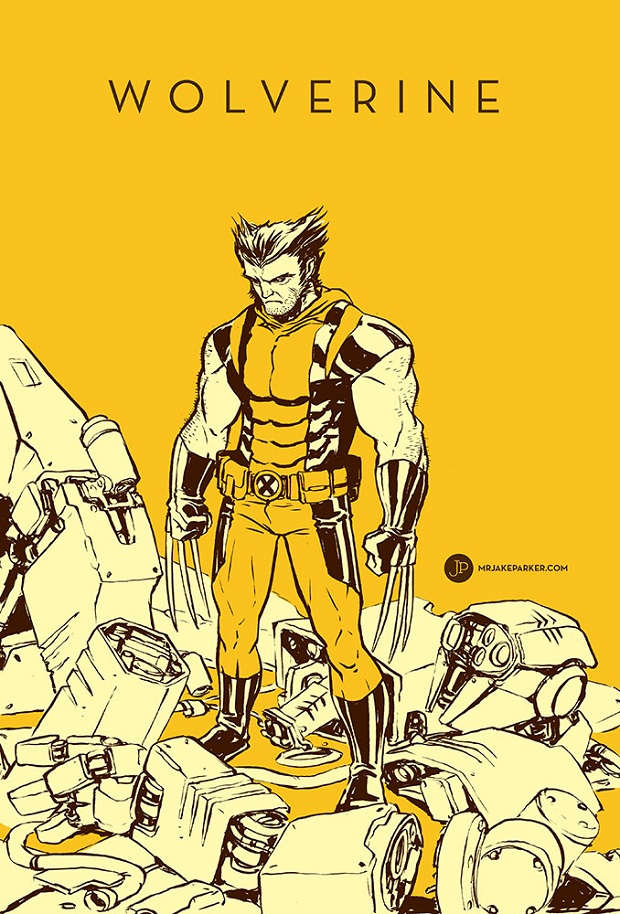 Wolverine by Jake Parker
