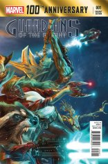 100TH ANNIVERSARY GUARDIANS OF THE GALAXY #1 VARIANT
