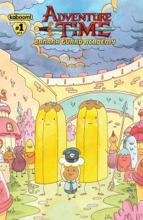 ADVENTURE TIME BANANA GUARD ACADEMY #1 COVER B