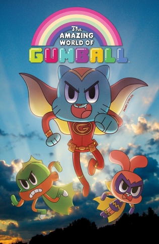 AMAZING WORLD OF GUMBALL #2 COVER B
