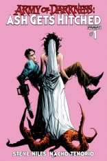 ARMY OF DARKNESS ASH GETS HITCHED #1 LEE COVER