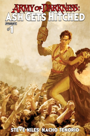 ARMY OF DARKNESS ASH GETS HITCHED #1 SUYDUM COVER