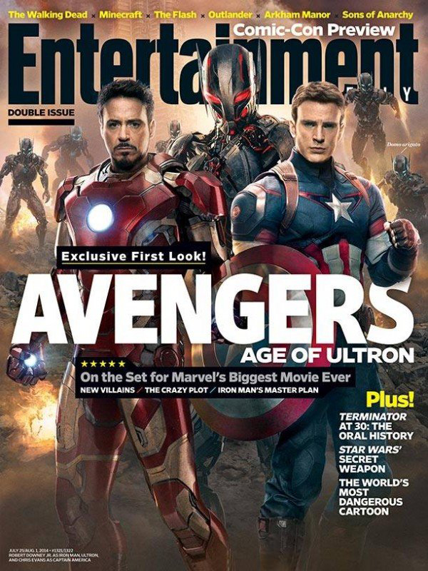 Avengers Age of Ultron Cover