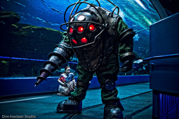 Big Daddy BioShock Cosplay by Harrison Krix Photo by Dim Horizon Studio