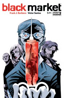 BLACK MARKET #1 COVER A