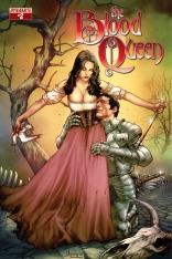 BLOOD QUEEN #2 ANACLETO COVER