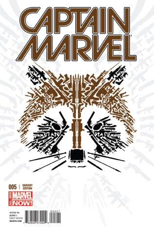 CAPTAIN MARVEL #5 VARIANT
