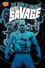 DOC SAVAGE #8 CASSADAY COVER