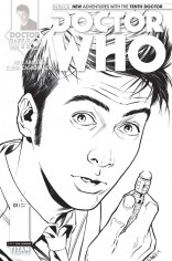 DOCTOR WHO 10TH DOCTOR #1 VARIANT B
