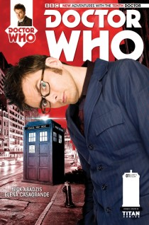 DOCTOR WHO 10TH DOCTOR #1 VARIANT C