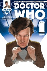 DOCTOR WHO 11TH DOCTOR #1 VARIANT A