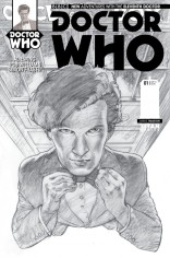 DOCTOR WHO 11TH DOCTOR #1 VARIANT B