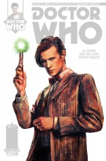 DOCTOR WHO 11TH DOCTOR #1 VARIANT D
