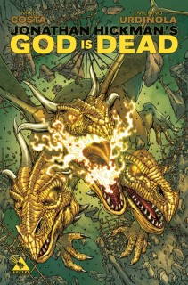 GOD IS DEAD #17 END OF DAYS COVER