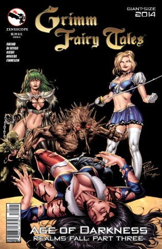 GRIMM FAIRY TALES GIANT SIZE 2014 COVER A