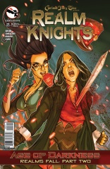 GRIMM FAIRY TALES REALM KNIGHTS ONE-SHOT COVER B