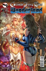 GRIMM FAIRY TALES VS. WONDERLAND #1 COVER A