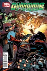 GUARDIANS OF THE GALAXY #17 VARIANT